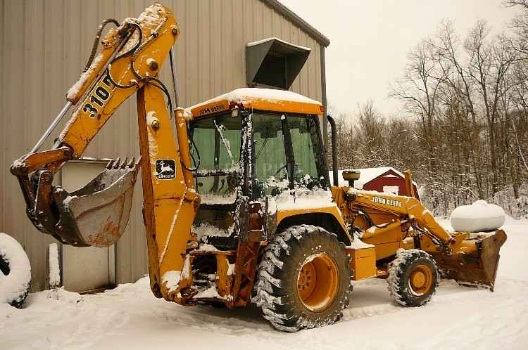 John Deere 310d Specifications : Red pine equipment john deere d turbo backhoe