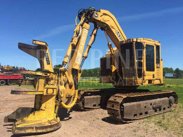 John Deere 653G Feller Buncher ***SOLD***