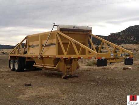 R-Way 42'x102' 23 Cubic Yard Belly Dump