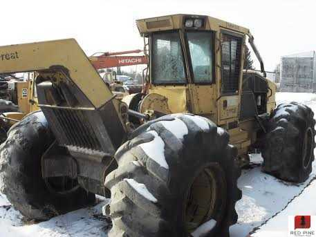 Tigercat 630B Grapple Skidder w/ Winch