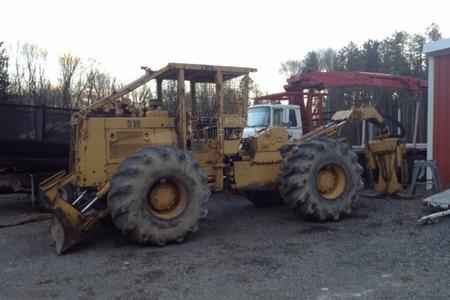 CAT 518 Grapple Skidder with Winch ***SOLD*** | Minnesota