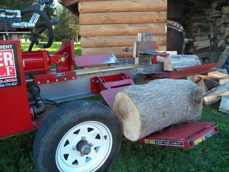 Timberwolf log splitter - Lookup BeforeBuying