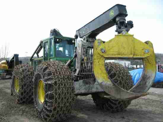 John Deere 848H Skidder ***SOLD***