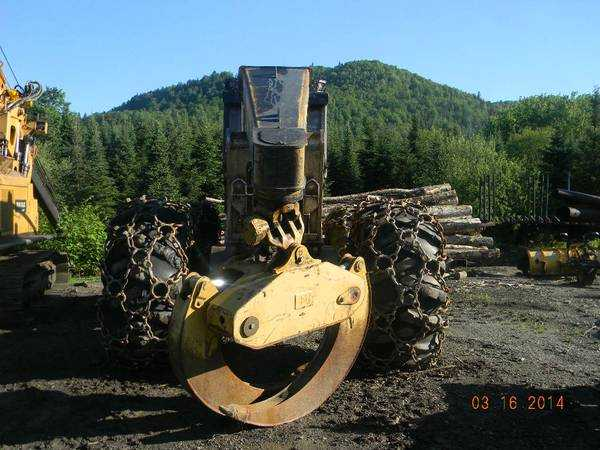 CAT 525C D/A Grapple Skidder