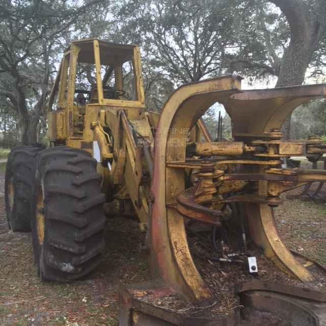 Red Pine Equipment CAT 930 Feller Buncher with Shear Head