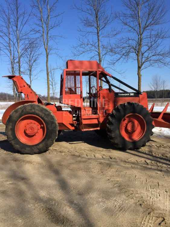 Timberjack 380 Cable Skidder | Minnesota | Forestry Equipment Sales