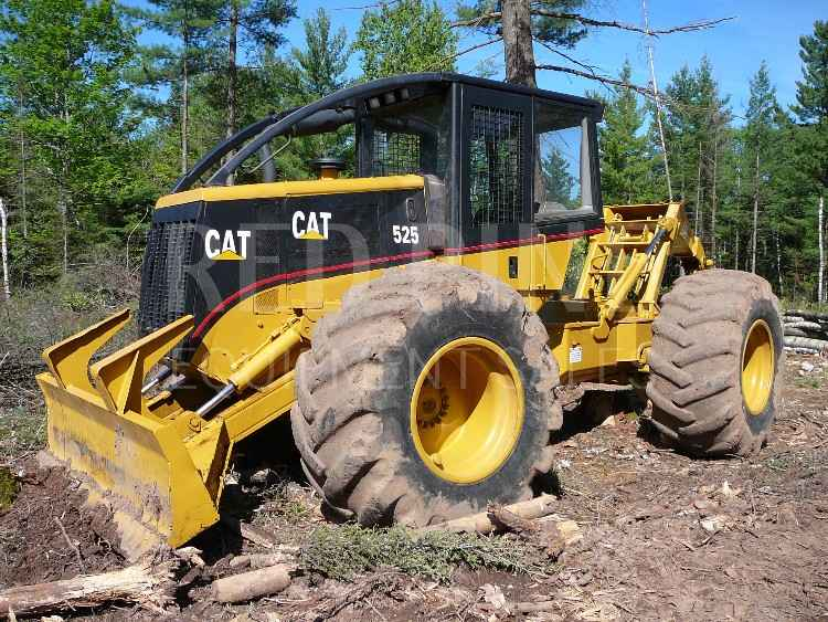cat 525 skidder sold minnesota forestry tractor to 30 wiring 50 amp to 30 adapter wiring diagram #12