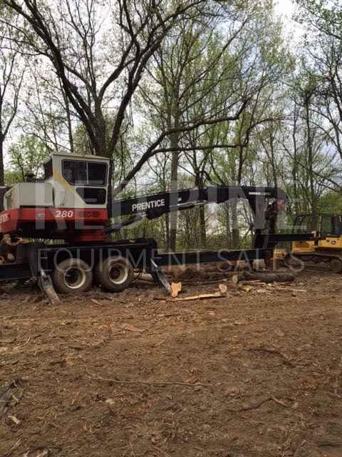 Prentice 280D Log Loader   Minnesota   Forestry Equipment Sales