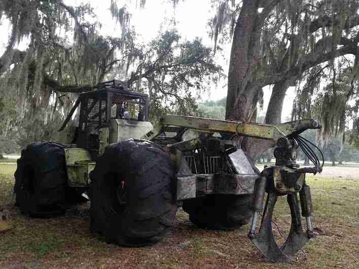 Franklin 170 Grapple Skidder