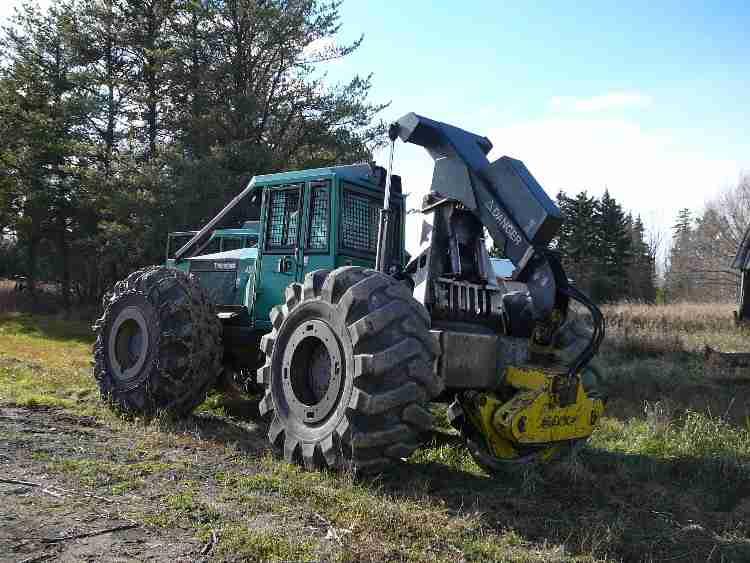 Timberjack 450c Skidder Minnesota Forestry Equipment Sales