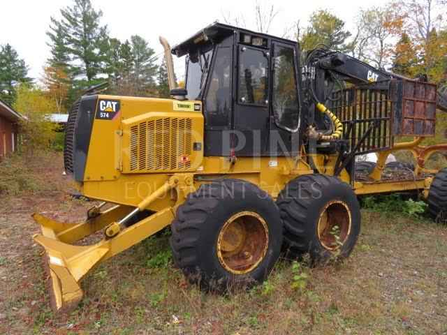 CAT 574 Double Bunk 15 Ton Forwarder ***SOLD***