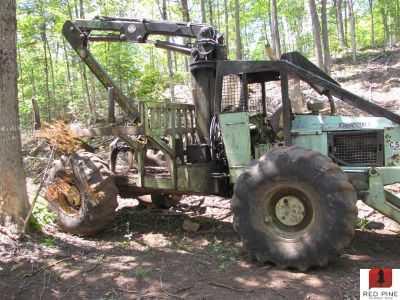 C5d tree farmer red pine equipment tree farmer c5d forwarder