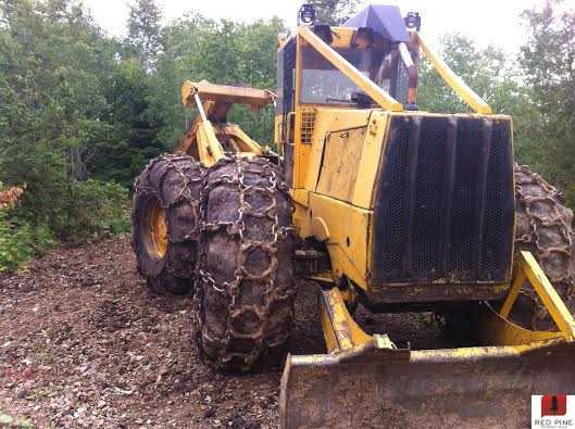 Clark 666 D/A Grapple Skidder with Winch