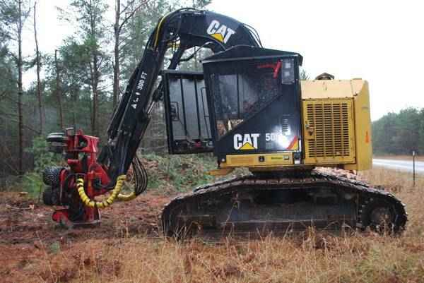 CAT 501HD Processor with Fabtek 4 Roller Head