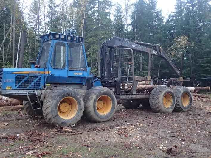 Rottne SMV 8 Wheel Drive Log Forwarder ***SOLD***