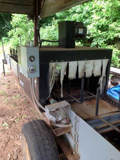 firewood bundle wrapping machine