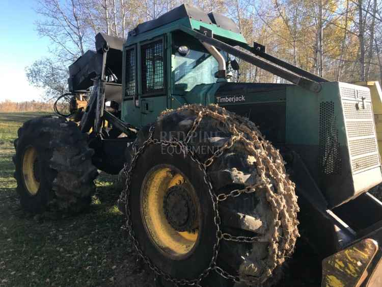 Timberjack 450 Skidder | Minnesota | Forestry Equipment Sales