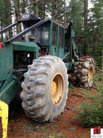 Timberjack 520 D/A Grapple Skidder