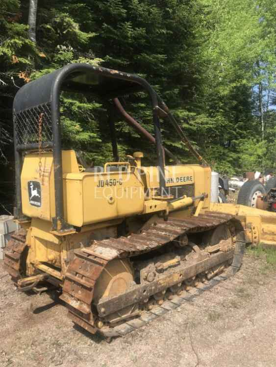 John Deere 450C Dozer | Minnesota | Forestry Equipment Sales