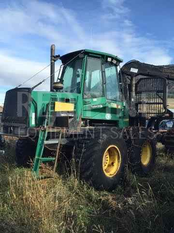 Timberjack 1710B Double Bunk Forwarder