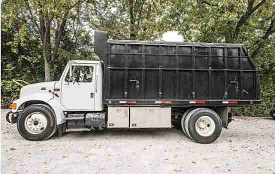 International 4700 Chip Dump Truck ***SOLD***