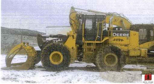 John Deere 724J Wheel Loader ***SOLD***