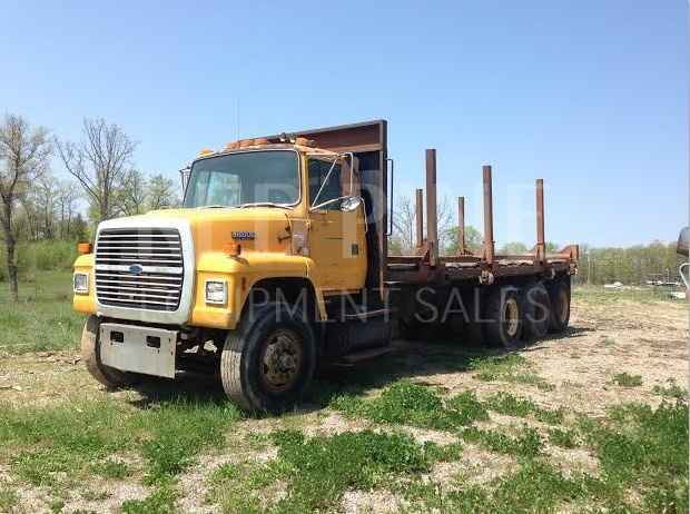 Ford 18000 Tri-Axle Log Truck ***SOLD***