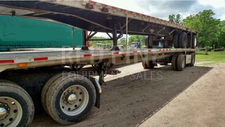 "Ravens 48' 102"" Spread Axle Flat Bed Trailer"