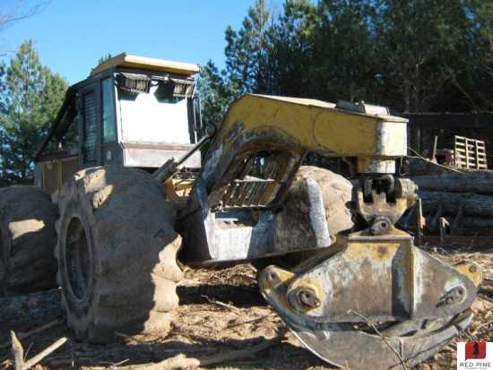 John Deere 648GIII Grapple Skidder w/ Winch ***SOLD***