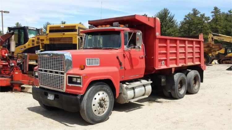 ford ltl9000 10 wheel dump truck minnesota forestry equipment sales. Black Bedroom Furniture Sets. Home Design Ideas