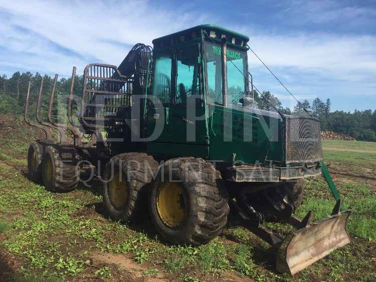 Timberjack 1110 8 Wheeled Forwarder**SOLD**