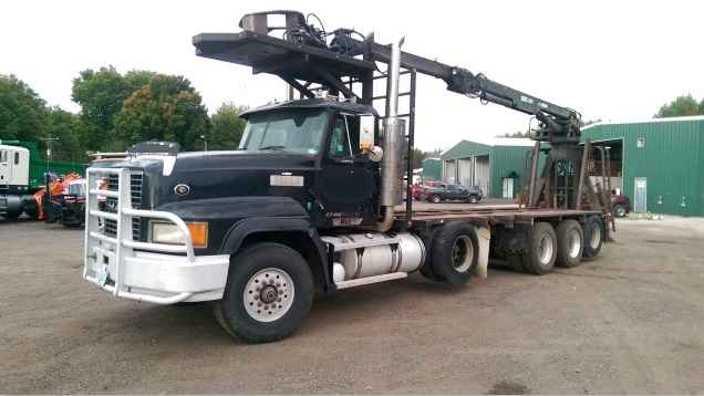 Mack CL713 Michigan Quad Axle Log Truck***SOLD***