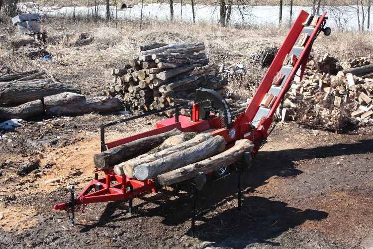 New 2019 Wood Beaver Model 20 Firewood Processor