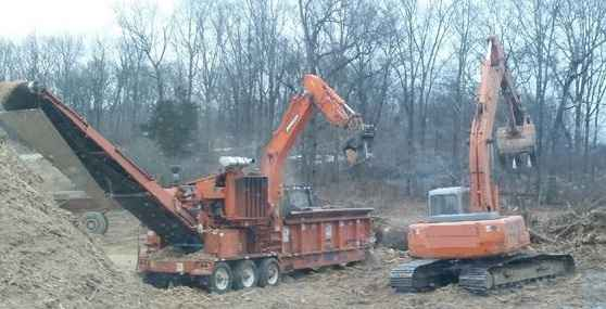 Brush Bandit 3680 Mobile Grinder