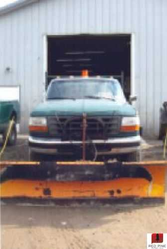 Ford F-350 Super Duty Plow Truck
