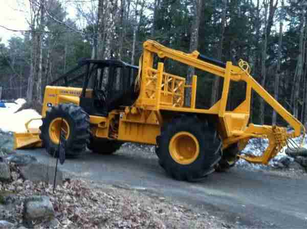 John Deere 340D Forwarder ***SOLD*** | Minnesota | Forestry