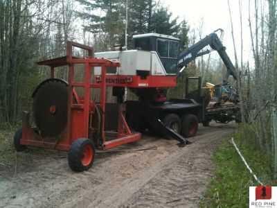 Prentice 210e Log Loader Minnesota Forestry Equipment