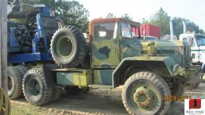 GI 10 Ton Army Log Truck