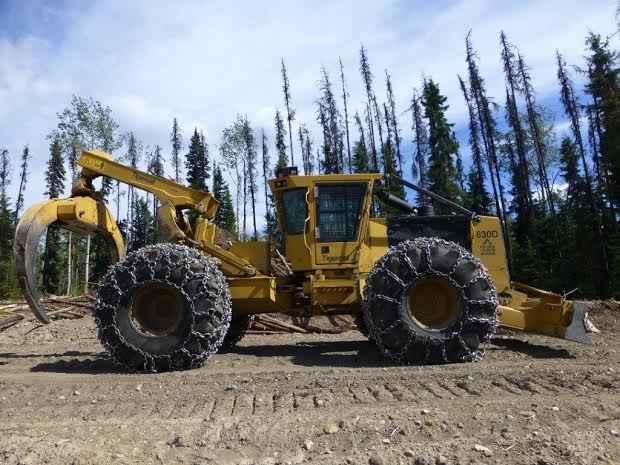 Tigercat 630d Skidder Sold Minnesota Forestry