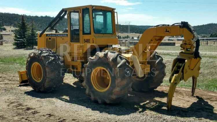 John Deere 548E Skidder ***SOLD***