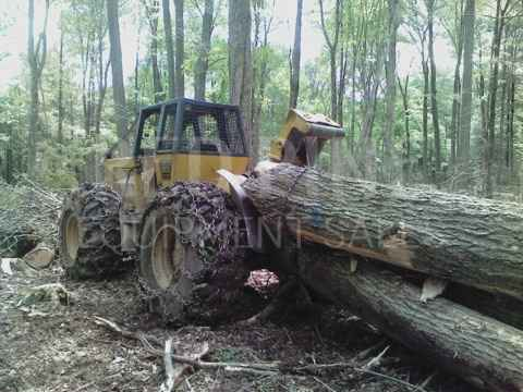 CAT 518 94U Cable Skidder