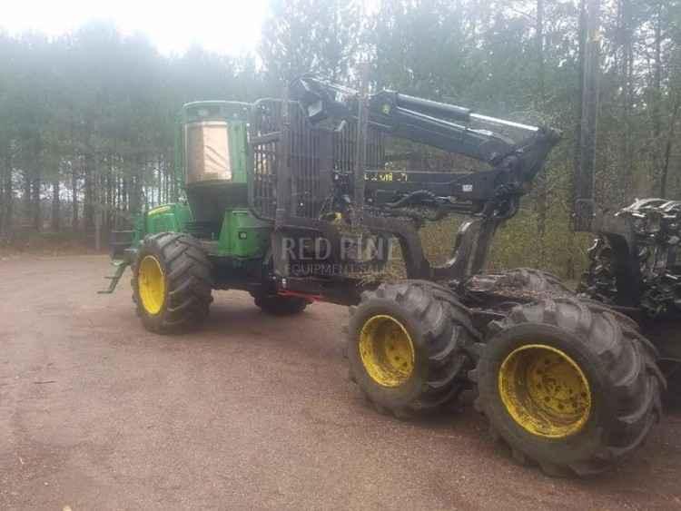 1010 John Deere Rims : John deere e wheel forwarder minnesota forestry