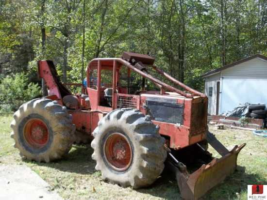 Timberjack 230 Cable Skidder