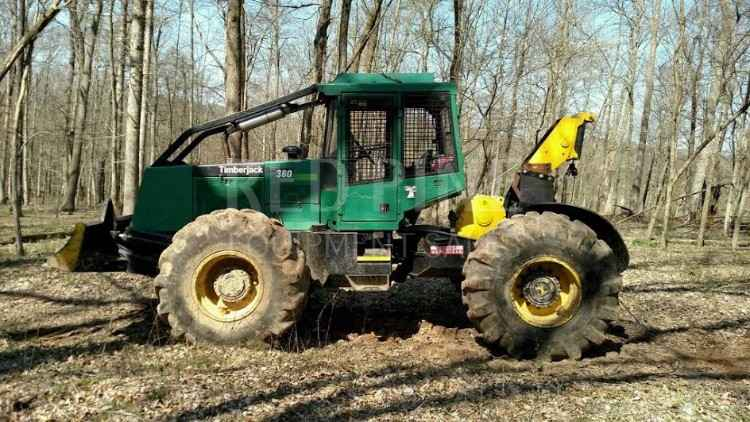 Timberjack 360 Cable Skidder ***SOLD***