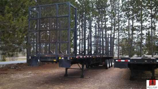 Transcraft 45' Tri-Axle 5 Bunk Log Trailer ***SOLD***