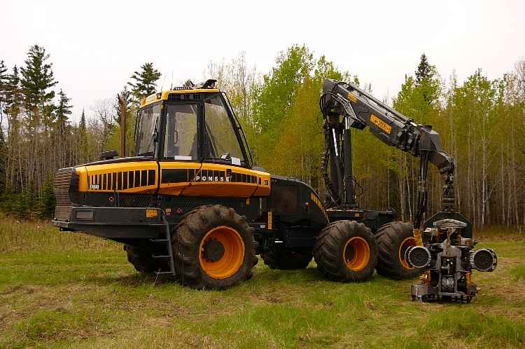 Ponsse Ergo Harvester with H7 Head ***SOLD***