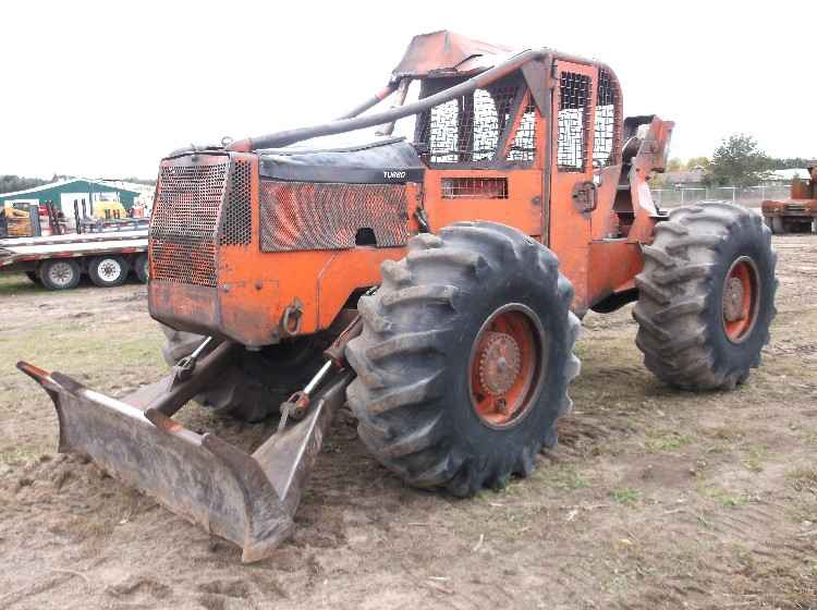 1985 Timberjack 230 Cable Skidder
