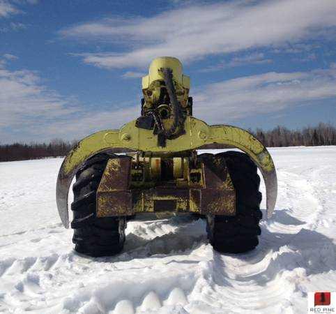 Franklin 170 Grapple Skidder w/ Winch   Minnesota   Forestry