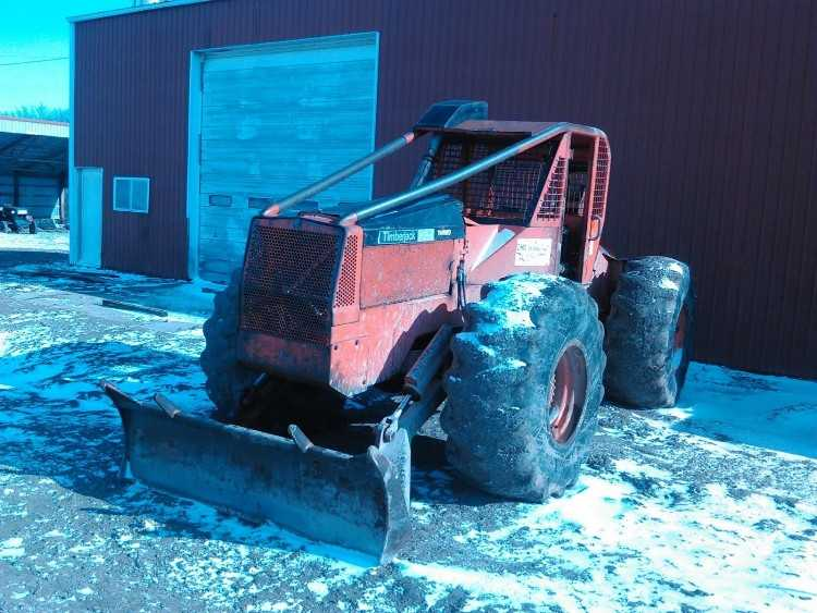 Timberjack 240A Cable Skidder