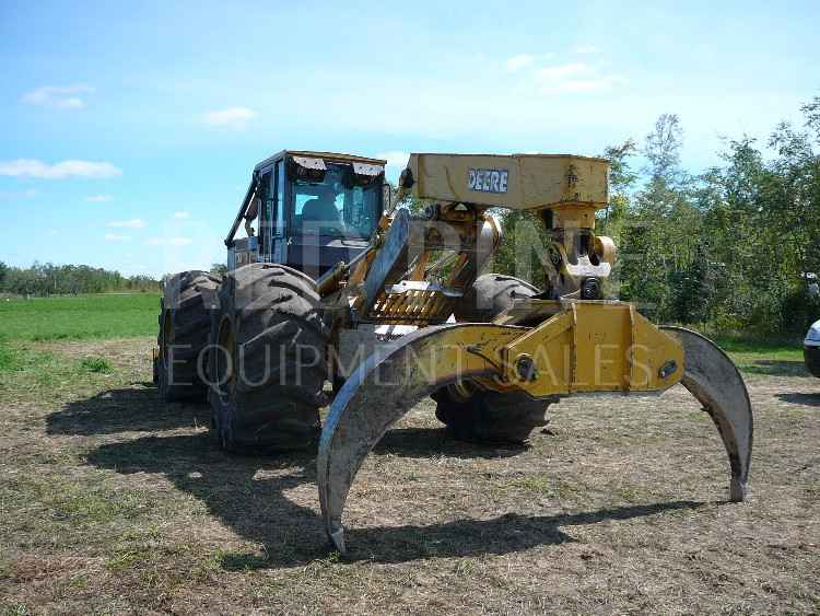 John Deere 748GIII Grapple Skidder ***SOLD***
